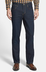 Tommy Bahama 'Dallas' Straight Leg Jeans Indigo Resin Wash