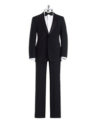 Calvin Klein Slim Fit Tuxedo Suit Black