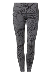 Desigual Yolanda Tights Castlerock Anthracite