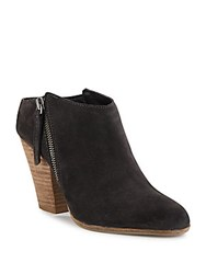 Dolce Vita Hadlyn Stacked Heel Booties Anthracite
