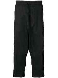 Lost And Found Rooms Full Crop Trousers Black