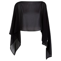 Damsel In A Dress Gabriella Shawl Black