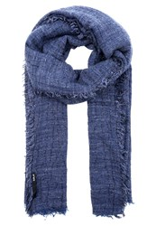Replay Scarf Dark Blue