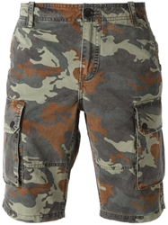 Zadig And Voltaire Camouflage Cargo Shorts