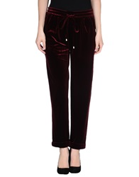 Emma Cook Casual Pants Maroon