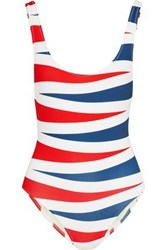 Solid And Striped The Anne Marie Color Block Swimsuit Multicolor