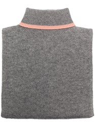 Chinti And Parker Collar Scarf Grey