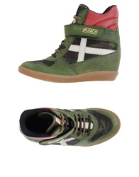 Munich Sneakers Military Green