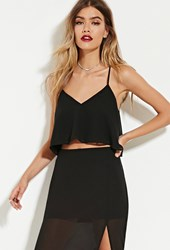 Forever 21 The Fifth Label Minutes To Midnight Cami Black