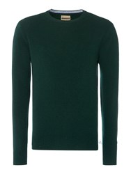 Howick Men's Cashmere Crew Neck With Gift Box Forest