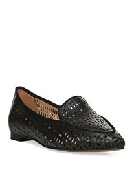 Franco Sarto Soho Point Toe Cutout Flats Black