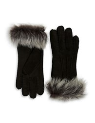 Ugg Shearling Sheepskin Gloves Black