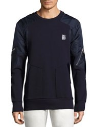 Prps Dredge Cotton Pullover Navy