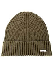 Calvin Klein Jeans Ribbed Knit Beanie 60