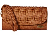 Roxy Playa Blanca Wallet Camel Wallet Handbags Tan