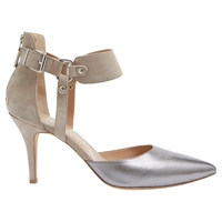 Mint Velvet Arizona Leather Court Shoes Multi