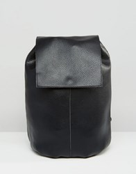 Asos Soft Unlined Backpack Black