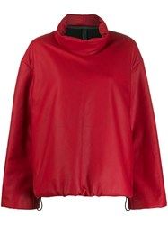Isaac Sellam Experience Rembour Down Jacket Red