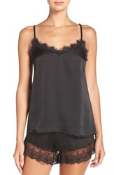 Band Of Gypsies Women's Lace Inset Satin Camisole
