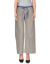 Peacock Blue Trousers Casual Trousers Women Black