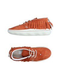 Clear Weather Sneakers Brown