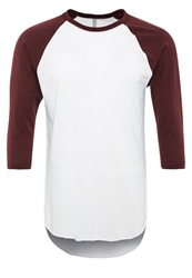 American Apparel Long Sleeved Top White Truffle