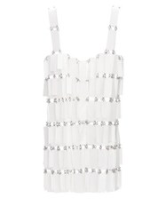 Paco Rabanne Sequinned Chainmail Top White