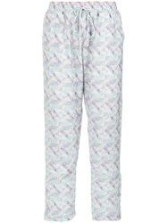 Olympiah Peru Trousers White