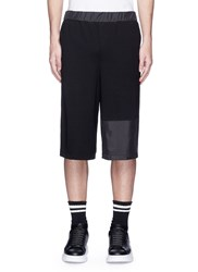 Mcq By Alexander Mcqueen Windbreaker Panel Shorts Black