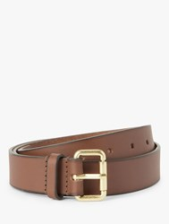 Boden Classic Leather Buckle Belt Tan
