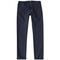 Incotex Skin Fit Stretch Chino Blue