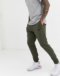 Nike Training Tapered Joggers In Khaki Green