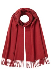 Polo Ralph Lauren Wool Scarf Red