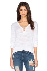 Feel The Piece Adalaide Pullover White