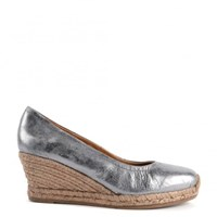 Kanna Luna Wedge Sandals Grey