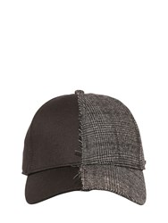 Diesel Cotton Canvas And Prince Of Whales Hat
