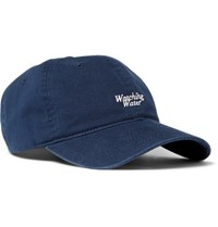 John Elliott Dad Embroidered Cotton Twill Baseball Cap Navy