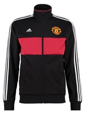 Adidas Performance Tracksuit Top Black Red White