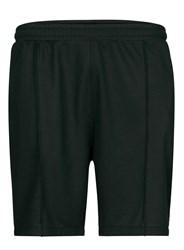 Topman Black And Green Mesh Jersey Shorts