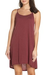Josie Heather Tees Chemise Heather Burgundy
