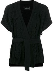 Zadig And Voltaire Corry Cow Cardigan 60