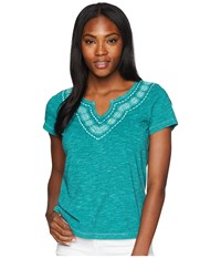 Aventura Clothing Maisie Short Sleeve Top Porcelain Green