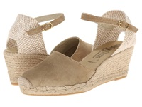 David Tate Europa Bone Women's Wedge Shoes