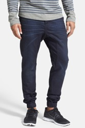 Zanerobe 'Slingshot' Denim Jogger Pants Blue