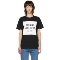 Opening Ceremony Black Logo T Shirt