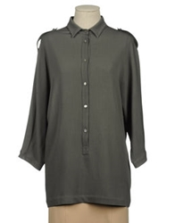 Jofre Shirts With 3 4 Length Sleeves Grey