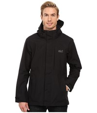 Jack Wolfskin Brooks Range Flex Jacket Black Men's Coat