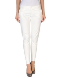 European Culture Casual Pants Ivory