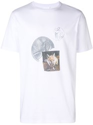 Soulland Patchwork Short Sleeve T Shirt White