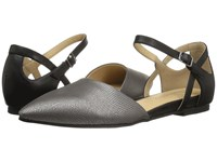 Chinese Laundry Cl By Helena Pewter Black Lizard Dress Flat Shoes